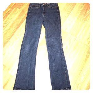 DKNY SIZE 4 regular denim jeans bootcut pants